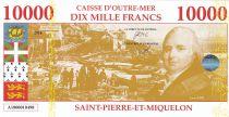 Saint-Pierre and Miquelon 10000 Francs Louis XVIII - View of St Pierre - 2018 - Fantaisy