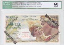 Saint-Pierre et Miquelon 1000 Francs Union Française