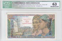 Saint-Pierre et Miquelon 500 Francs Pointe-À-Pitre - 1946