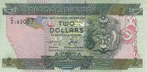Salomon (îles) 2 Dollars - Armoiries - Pêche traditionnelle - 2004