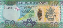 Salomon (îles) 50 Dollars Armoiries - Lézards - 2017 Hybride