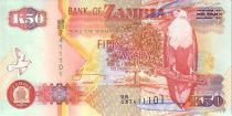 Sambia 50 Kwacha Eagle - Copper refining 2003
