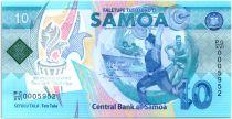 Samoa 10 Tala 2019 - Pacific Games  - Polymer - Neuf