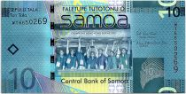 Samoa 10 Tala Champions Hong Kong Sevens 2007 - 2017 - UNC - P.39b