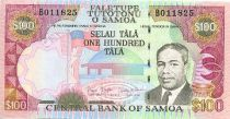 Samoa 100 Tala M. Tanumafili II - Paysans - 2006