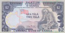 Samoa 2 Tala ND1985 - Vieil homme, paysage