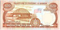 Samoa 20 Tala  - Pécheur - ND 1985 Série A