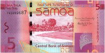 Samoa 5 Tala Plage - Résidence de Robert Louis Stevenson - 2014 - Neuf - P.38b