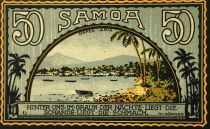 Samoa 50 Pfennig, Samoa - notgeld 1922 - NEUF