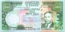 Samoa 50 Tala M. Tanumafili II - Danseurs - 2006