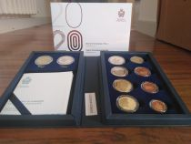 San Marino Proof set SAN MARIN 2020 - 10 coins incluing 2 Euro Raphael and 2 Euro Tiepolo