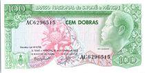 Sao Tomé-et-Principe 100 dobras - Roi Amador, fleur - Paysans - 1982