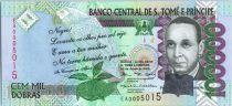 Sao Tomé-et-Principe 100000 Reis Francisco José Tenreiro, oiseau - 2005