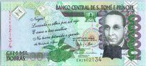 Sao Tomé-et-Principe 100000 Reis Francisco José Tenreiro, oiseau - 2013