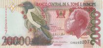 Sao Tomé-et-Principe 20000 Dobras Roi Amador, oiseau - Plage - 2013