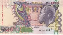 Sao Tomé-et-Principe 5000 Dobras Roi Amador, oiseau - Esplanade - 2004