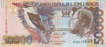Sao Tomé-et-Principe 50000 Dobras Roi Amador, oiseau - Banque - 2013