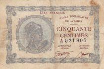 Sarre 50 Centimes Mines Domaniales de la Sarre - Type 1920 A.521,805