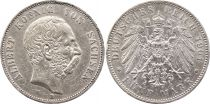 Saxe 1 Thaler Friedrich Auguste III - Armoiries - 1764 EDC