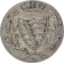 Saxe-Cobourg-Saalfeld 6 Kreuzer Armoiries - 1805 L