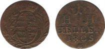 Saxe-Hildburghausen 1 Heller Arms - 1805