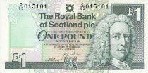 Schottland 1 Pound - Lord Llay - Edinburgh Castle - 2000