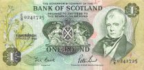 Scotland 1 Pound - 19-08-1988 - VF