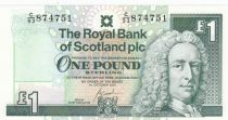 Scotland 1 Pound - Lord Llay - Edinburgh Castle - 2001 - P.351