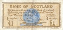 Scotland 1 Pound - Médaillion - Boat -  03/03/1967 B/B