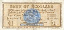 Scotland 1 Pound - Médaillion - Boat -  03/03/1967 B/B