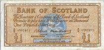 Scotland 1 Pound - Médaillion - Boat - 07/02/1964