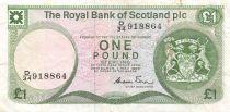 Scotland 1 Pound Arms - Edinburgh Castle - 01-05-1986 - VF