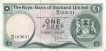 Scotland 1 Pound Arms - Edinburgh Castle - 03-05-1976 - VF