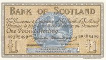 Scotland 1 Pound Bank of Scotland - 1955 - aUNC - P.100a