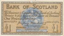 Scotland 1 Pound Bank of Scotland - 1956 - VF - P.100b