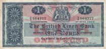 Scotland 1 Pound British Linen Bank - 01-07-1963 - VF - P.166c