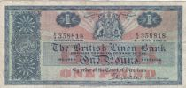 Scotland 1 Pound British Linen Bank - 04-05-1964 - VF- P.166c