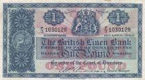 Scotland 1 Pound British Linen Bank - 115-04-1960 - VF - P.157e