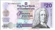 Scotland 1 Pound Lord Llay - Edinburgh Castle -2000