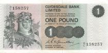 Scotland 1 Pound Robert the Bruce - Scene of Battle - 01-05-1972 - VF+