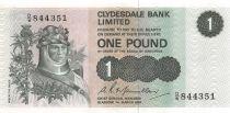Scotland 1 Pound Robert the Bruce - Scene of Battle - 09-11-1988 - VF