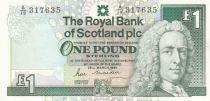 Scotland 1 Pound Royal Bank of Scotland - Castle - 1987 - UNC P.346