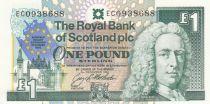 Scotland 1 Pound Royal Bank of Scotland - European Summit - 1992 - UNC - P.356