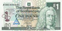 Scotland 1 Pound Royal Bank of Scotland - Graham Bell - 1994 - Neuf - P.359