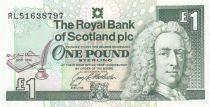 Scotland 1 Pound Royal Bank of Scotland - RL Stevenson - 1994 - Neuf - P.358