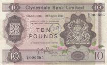 Scotland 10 Pounds Cyclade Bank Limited 1964 - P.199 - VF