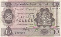 Scotland 10 Pounds Cyclade Bank Limited 1964 - P.199 - VF