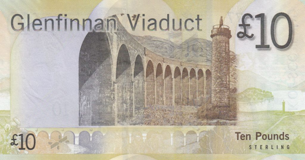 Scotland 10 Pounds Sir Walter Scott - Viaduc - 2009 - UNC - P.125