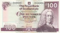 Scotland 100 Pounds Lord Ilay - Balmoral castle - 2007 - UNC- P.350d
