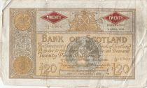 Scotland 20 Pounds Bank of Scotland - 1952 - aF - P.94c